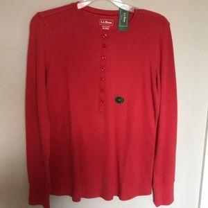 L.L. Bean thermal top